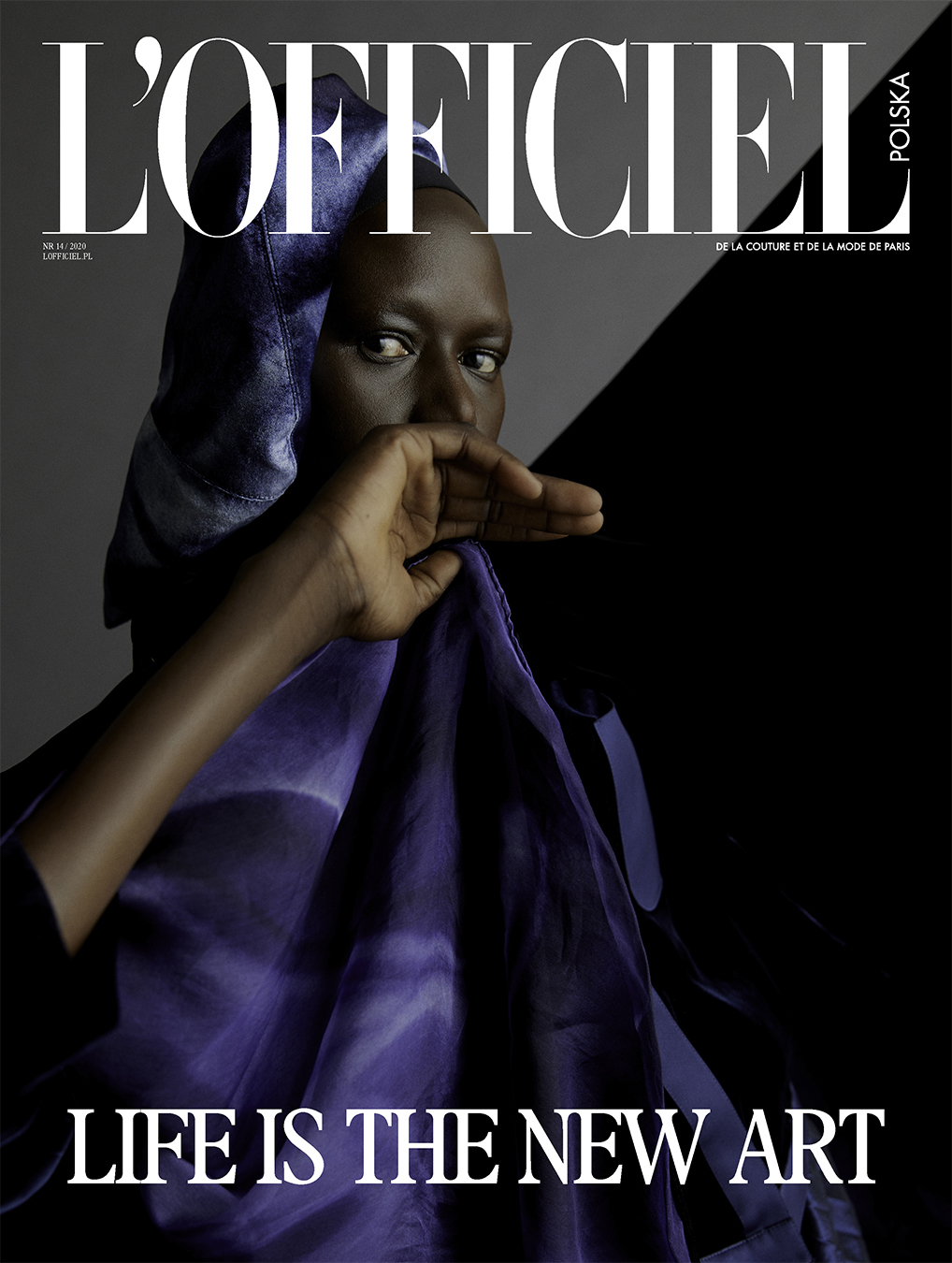 Ajak Deng Cover Lofficiel Poland July 2020